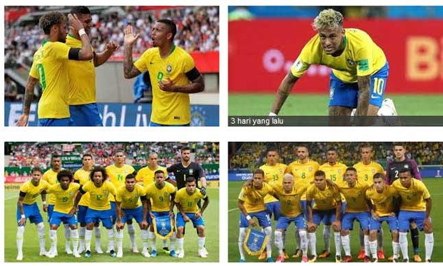 Timnas Brasil Juara Piala Dunia 2018